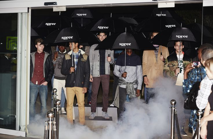 Spree.co.za launching their menswear range in style. > For more BTS pics > http://www.mylifeinpink.co.za/?p=558