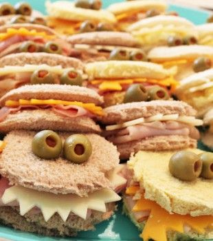 Recetas para niños: Divertidos sandwich de cumpleaños