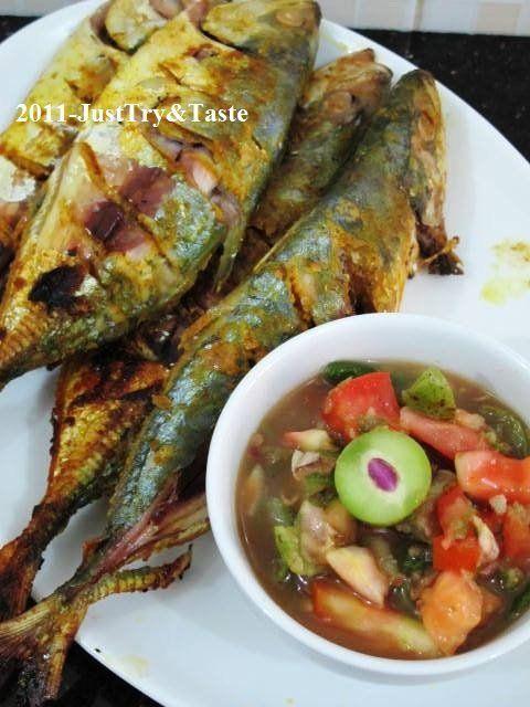 Delicacy spicy .....  Try & Taste: Kembung Bakar dengan Sambal Segar Gandaria