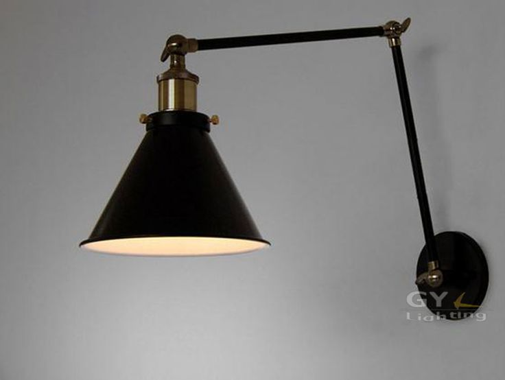 industrial home lighting. vintage industrial loft bedside wall light retro warehouse sconce edison bulbs in home u0026 garden lighting fans wall fixtures n