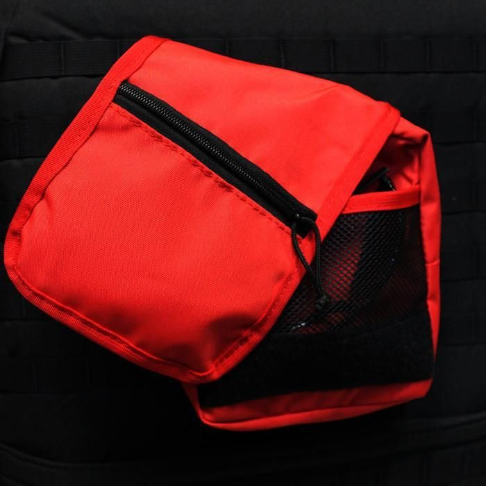 Molle Pouches 8x8x2 Inch Red Bartact