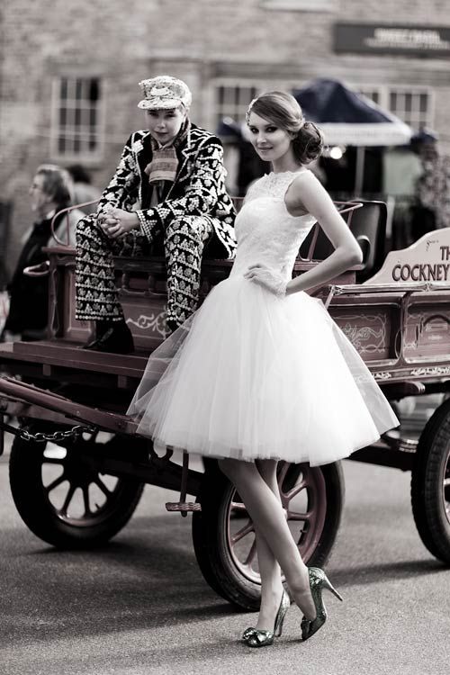 Kitty & Dulcie :: Pearly Queen, a Cheap but Gorgeous Wedding Dress