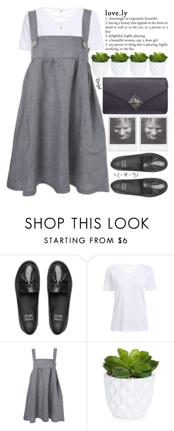 """""""you could've had anyone and you picked me"""" by alienbabs ❤ liked on Polyvore featuring FitFlop, Topshop, New Look, vintage, clean, organized and rosegal"""