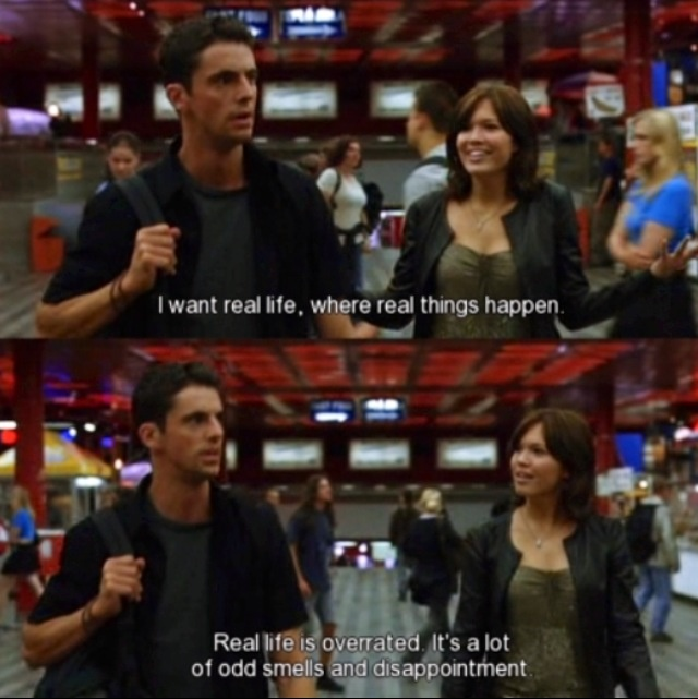 Chasing Liberty - Odd smells and Disappointment
