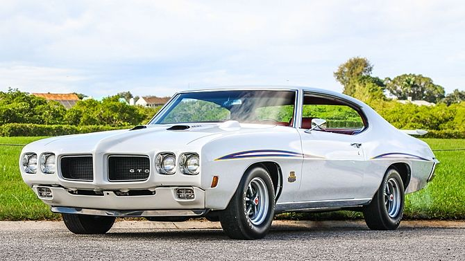 1970 Pontiac GTO Judge Ram Air IV 400/370 HP, 4-Speed, Build Sheet presented as lot F217 at Kissimmee, FL 2016 - image1