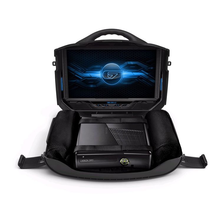 Portable Playstation / XBOX Gaming Station is the Ultimate Set-Up for Gaming on the Go -  #gaming #ps4 #xbox