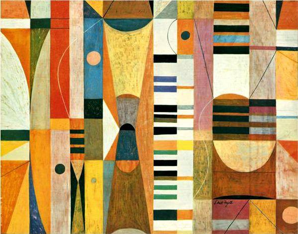 Neil Fujita Cover art for Glenn Gould, circa 1950's