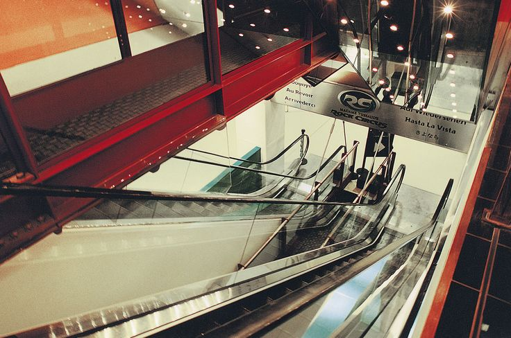 Check out these escalators in London, England refurbished in 2000 and submitted for the Project of the Year. Submit your project at http://www.elevatorworld.com/poy #tbt #throwback #escalators #london #england