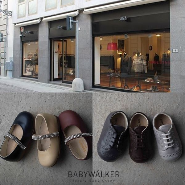 BABYWALKER luxury shoes available in the Parma Boutique