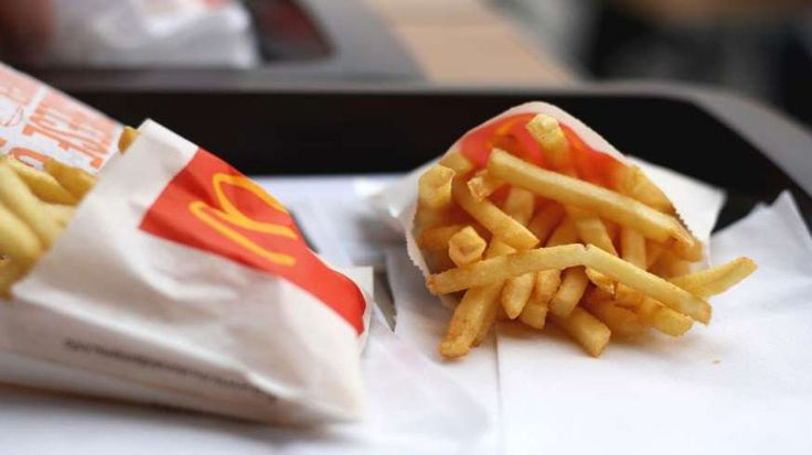 MCDONALD'S FRIES ARE JUST MADE FROM POTATOES, RIGHT? Wrong, says CNBC. The news website says that there are actually 19 ingredients, including an anti-foaming chemical to stop oil from splattering, dextrose (a type of sugar) which gives fries a uniform color, and sodium acid pyrophosphate which is known to cause inflammation in the body.