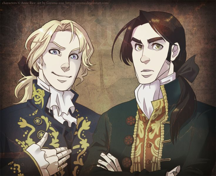 'Welcome' by ~Garama on deviantART - Lestat and Louis ONLY THE BEST VAMPIRES EVER