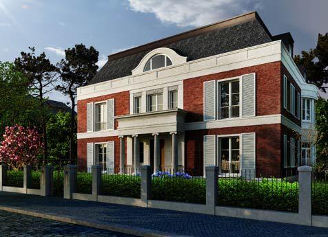 Haus weyhe freistehende villa in dahlem mitten im for Stadtvilla klassisch