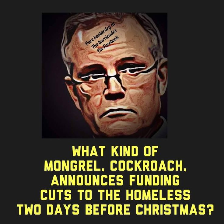 THE SINISTER MIND OF SCOTT MORRISON Photo by Tony Abbott Village Idiot