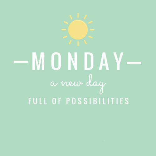 #Monday #funday | Sunday prayer, New day