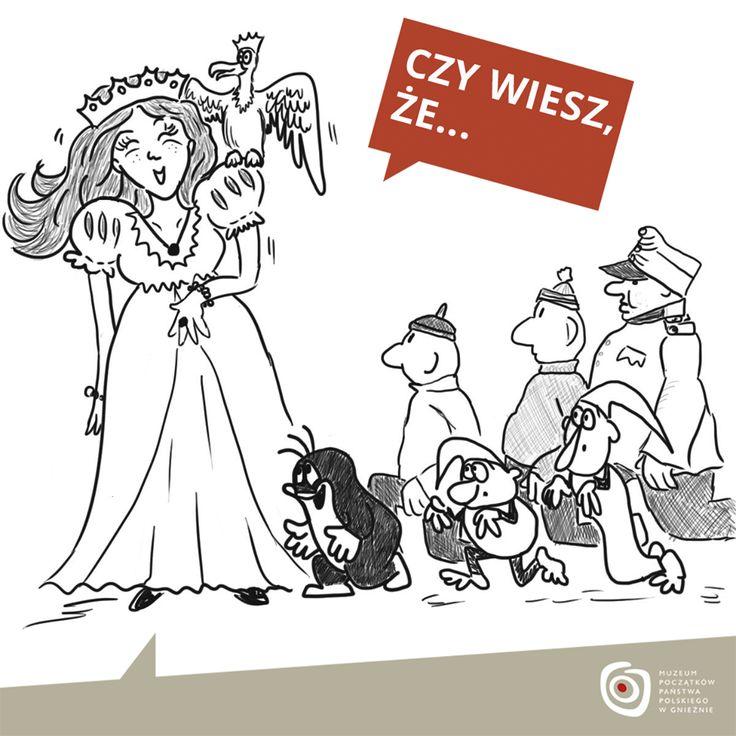 ...pierwsza czeska królowa pochodziła z dynastii Piastów? Była nią Świętosława - córka Kazimierza I Odnowiciela i Dobroniegii Marii. Ożeniono ją z księciem czeskim Wratysławem II, któremu cesarz Henryk IV przyznał tytuł dożywotniego króla Czech. Koronacja odbyła się w roku 1085 lub 1086. Świętosława, jako małżonka Wratysława, została koronowana na królową Czech.