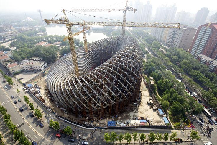 Beijing Institute of Architectural Design (BIAD) / Un-Forbidden Office (UFO) -  Phoenix TV, Beijing