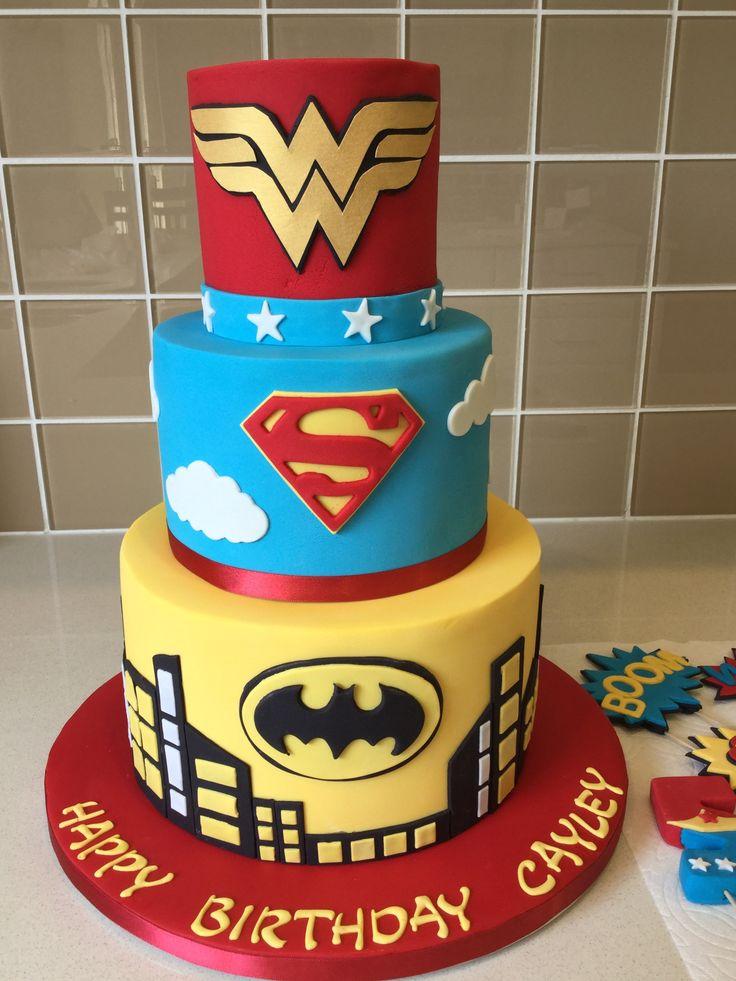 Superhero Cake Superhero cake, Cake, Desserts