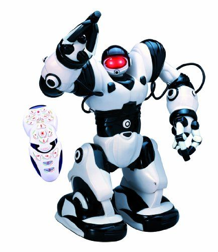 Robosapien Humanoid R/C Robot - he's a multi-functional, thinking, feeling robot with attitude!