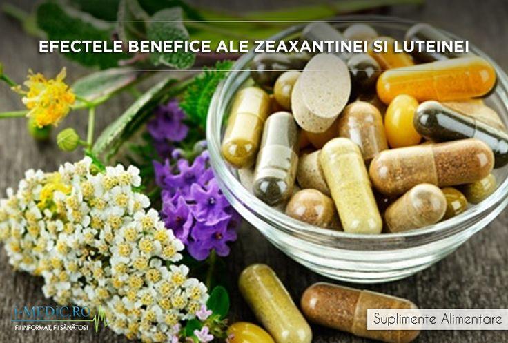 Zeaxantina si luteina fac parte din familia carotenoidelor, extrem de importante pentru mentinerea sanatatii ochilor. Astfel, zeaxantina poate fi regasita in zonele centrale ale ochilor, in vreme ce luteina este prezenta in zonele periferice ale acestor organe. http://www.i-medic.ro/diete/suplimente/efectele-benefice-ale-zeaxantinei-si-luteinei