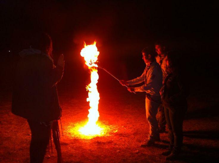 torre de fuego #scout