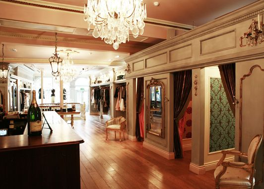 The 50 best fashion boutiques outside London - Telegraph :: those changing rooms!!! <3