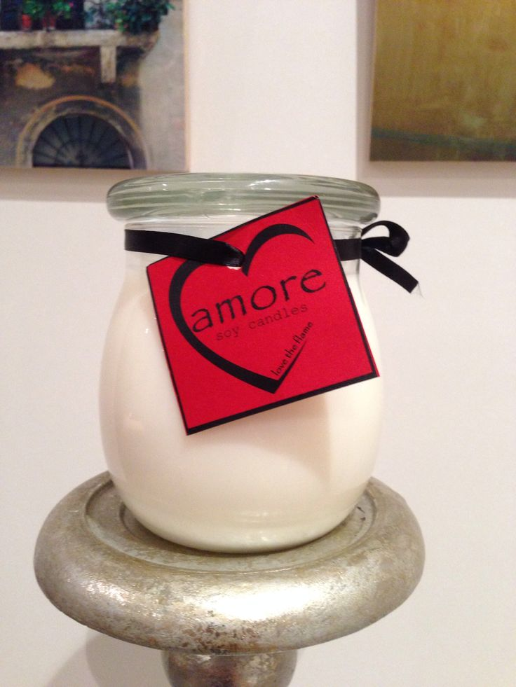 Essential Amore Soy Candle