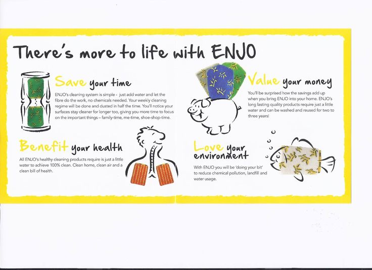 There's more to life with ENJO.