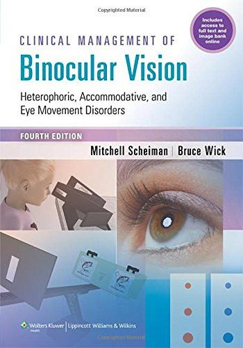 42 best ksiki images on pinterest medical medical students and clinical management of binocular vision heterophoric accommodative and eye movement disorders used book in good condition fandeluxe Gallery