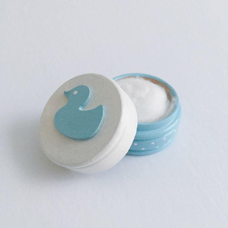 Boîte La Fée des des dents / Ma Première dent / Ma Première mèche - Bleue et blanche Disponible sur www.MaPetiteFabrique.ca