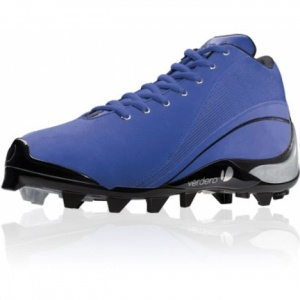 Verdero Molded Lacrosse Cleats Blue Mesh - ONLY $29.99