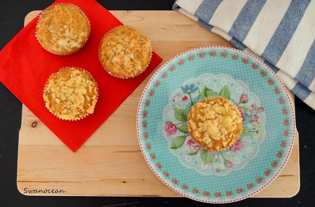 Swanocean: Gluten free cheese muffins-Μάφινς με τυρί χωρίς γλουτένη
