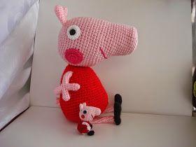 Amigurumi Peppa Pig Mini : 111 best images about Amigurumis on Pinterest Free ...