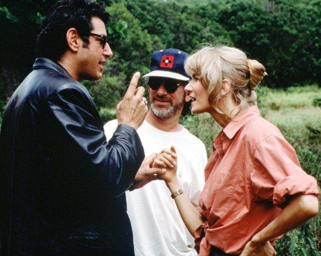17 photos ultra-rares du tournage du premier «Jurassic Park»