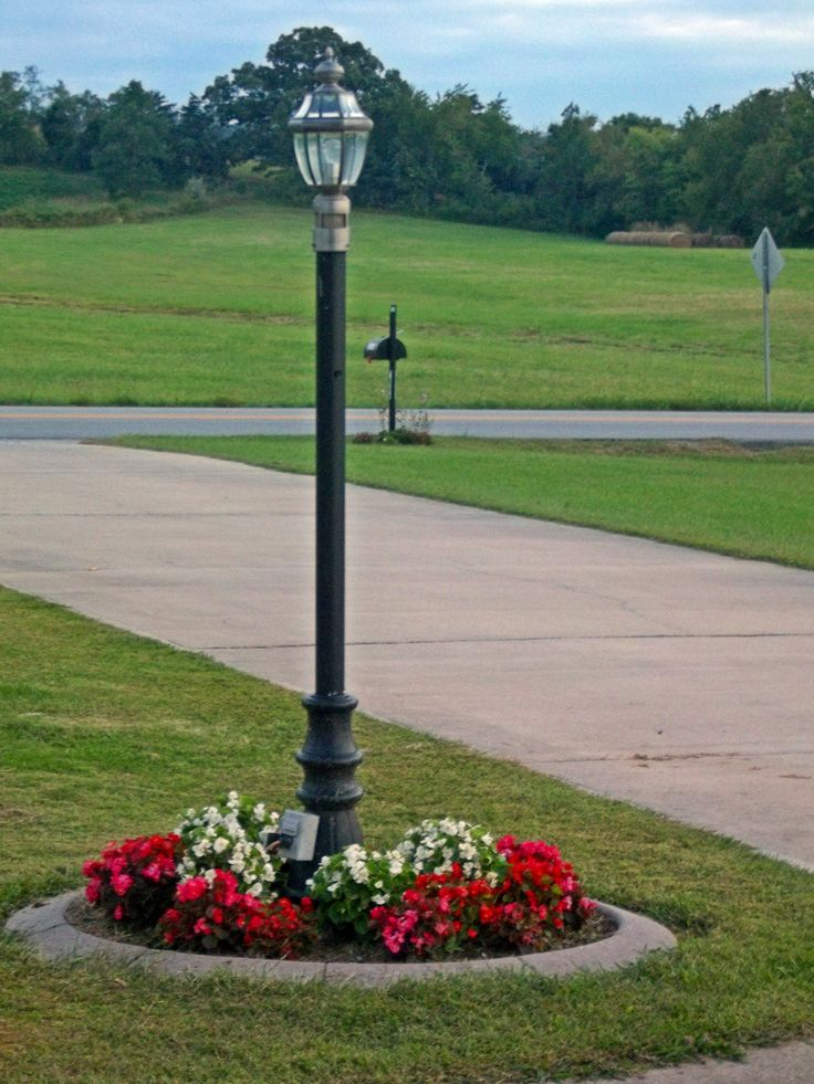 The Lamp Post Photo By Joy Fussell Light Post Landscaping