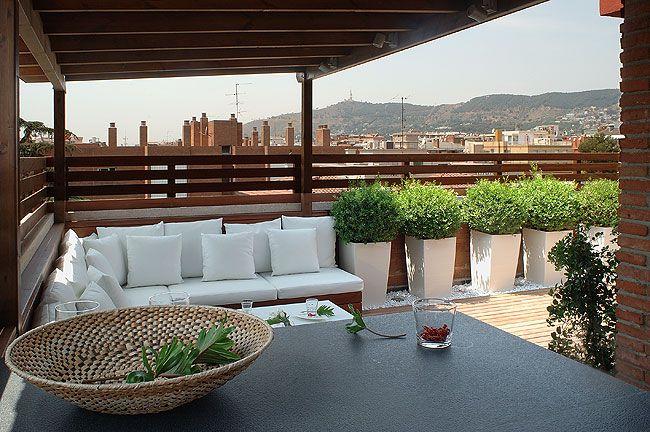 Dise o terrazas dise o exteriores decoraci n exteriores - Diseno de jardines exteriores ...