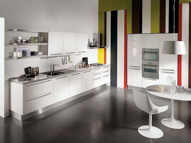 One Wall Kitchen Designs Minimalist Impressive 23 Best Kitchen Images On Pinterest  Design Kitchen Eclectic . Review