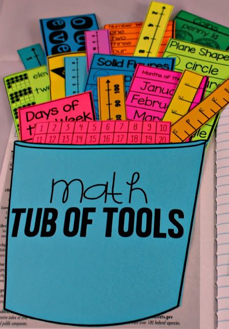 "Use these reference math tub of tools to help students be successful with math concepts.  Create a reference area in student math journals, math notebooks, or student workbooks with these helpful math reference tools.  Math tools included:  number lines, ten frames, clocks, number reference posters, rulers, shapes, coins, place value, number charts, fractions, and more!  Great for all grades.  To learn more about ""Math Tools for Reference"", visit www.tunstallsteachingtidbits.com"
