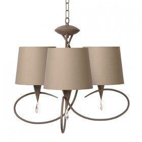 Lampen: Hanglamp met drie kappen