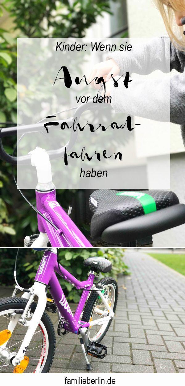 Wenn das Kind Angst vor dem Fahrradfahren hat: Radfahren mit Woombike | familieberlin