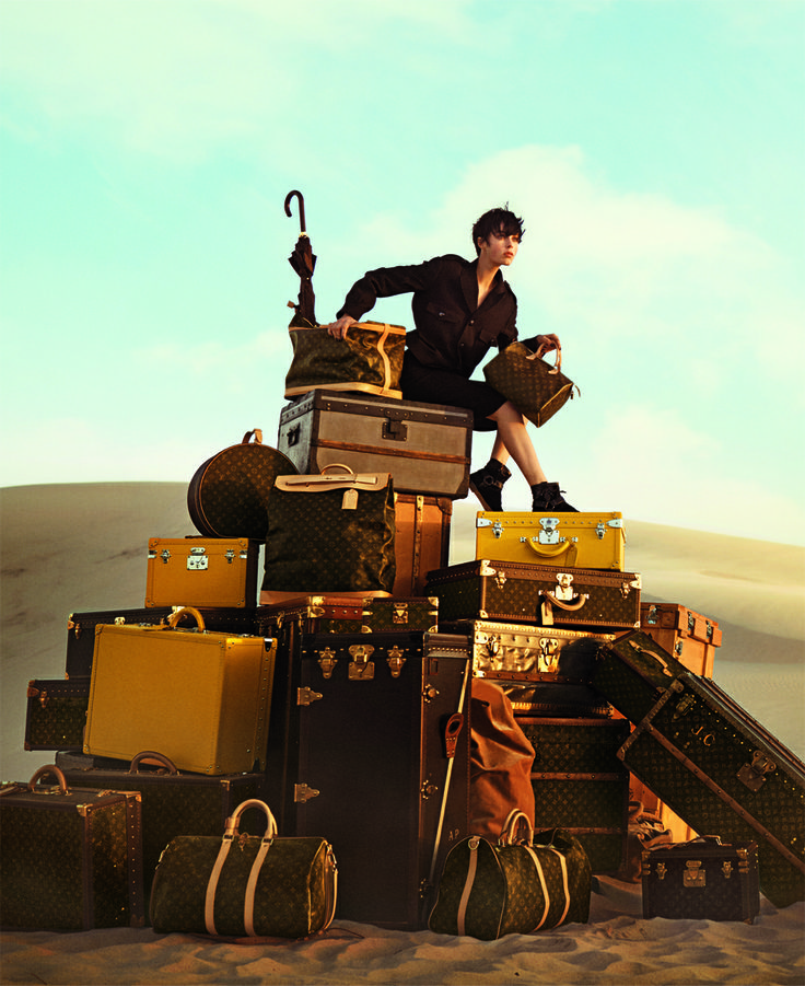 the spirit of travel campaign from louis vuitton