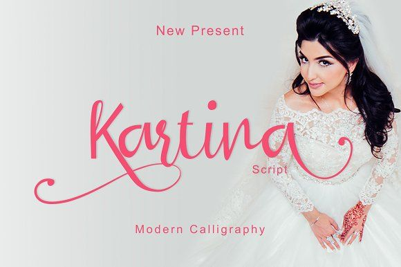 Kartina Script by MARSOSE on @creativemarket