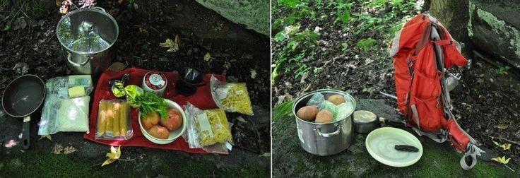 HOW TO - pack food for the backcountry;    this is a wicked guide to packing food for back country tips.  It gives you necessary tips about packing, the types of food to bring, the kinds of meals to make etc.  One important thing they really stress: frisbee!
