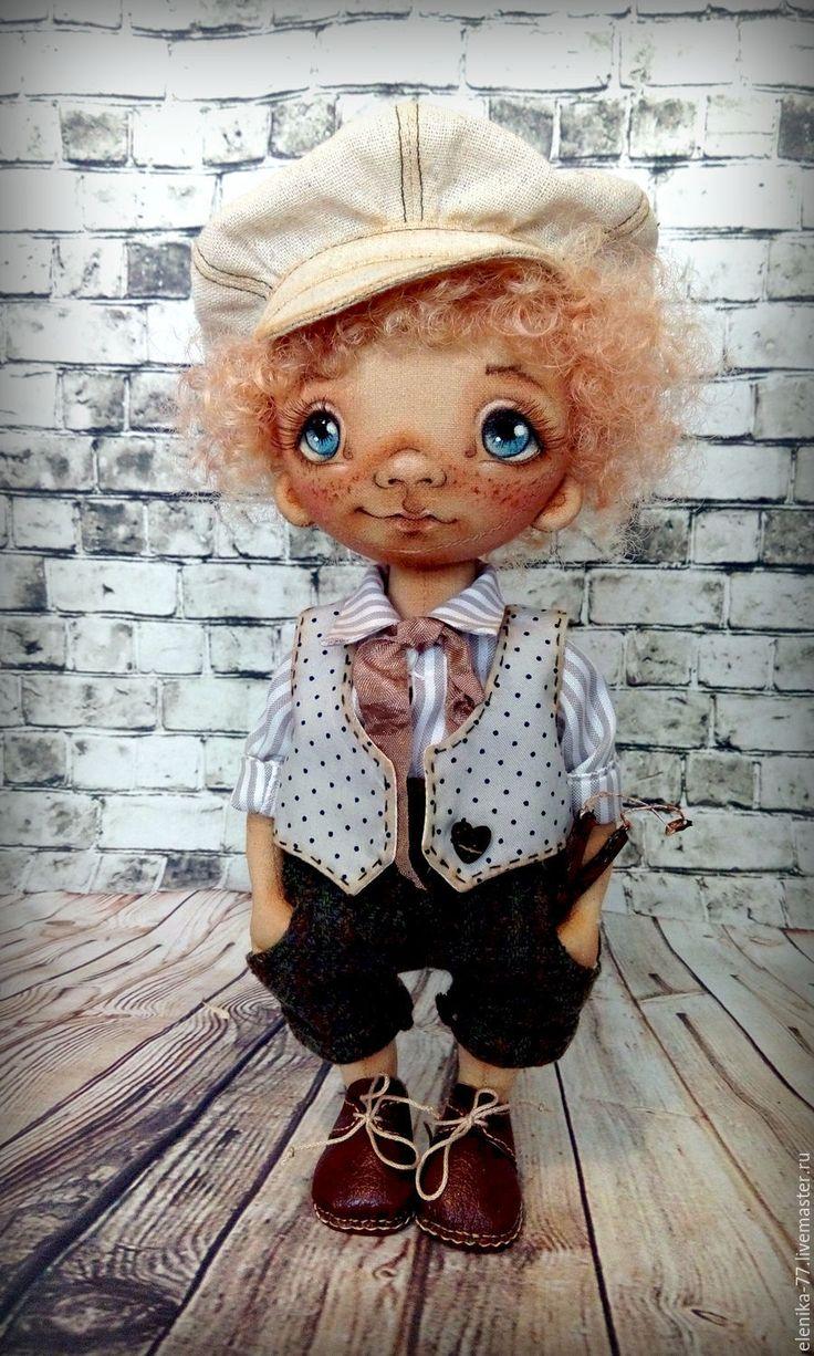 Купить Оливер Твист. Текстильная кукла. - комбинированный, мальчик, кукла мальчик, тыквоголовка