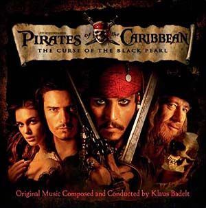 Pirates of the Caribbean... one of the best movie scores ever!