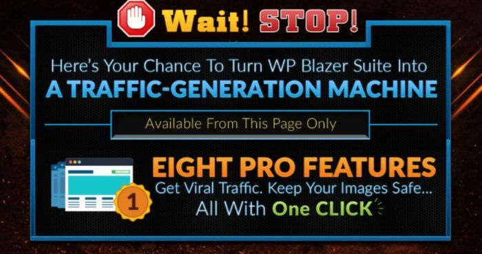 WP Blazer PRO OTO WordPress Plugin Review - Best Upsell #1 of WP Blazer Suite to Get Better Security of the Sites Completed with The SEO Management Tool, Social Management Tool, Media Files Management, Keyword Research Tool, My Blog's Top Ranking Keywords Analysis and Backlinks Analysis in Only Onetime Payment