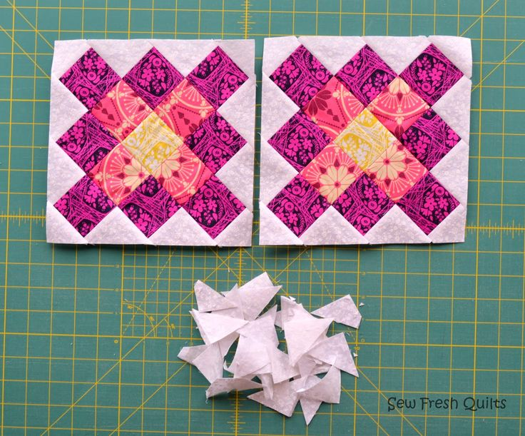 Sew Fresh Quilts: Granny Square Quilt Block Tutorial - Part 2