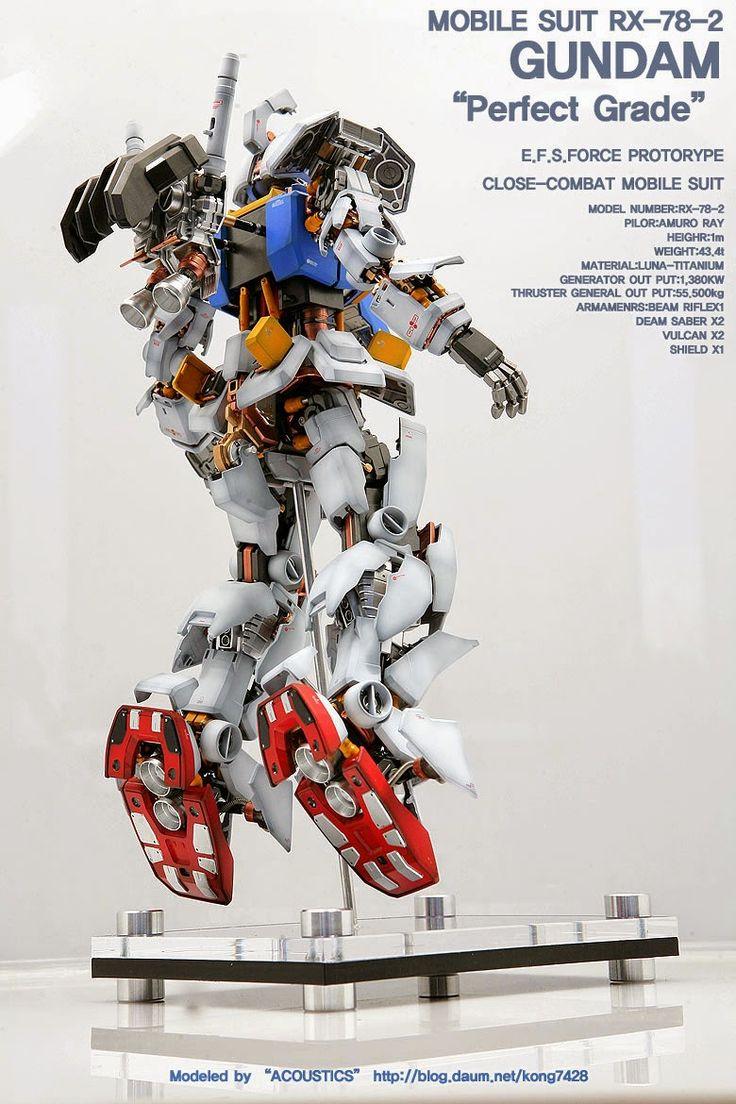 GUNDAM GUY: PG 1/60 RX-78-2 Gundam 'Open Hatch' - Customized Build