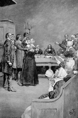 the key role of puritanism in the witch trials in the crucible a play by arthur miller A summary of themes in arthur miller's the crucible  another critical theme in  the crucible is the role that hysteria can play in tearing apart a community.
