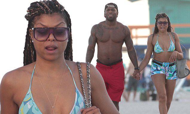 Empire star Taraji P. Henson shows off her bikini body