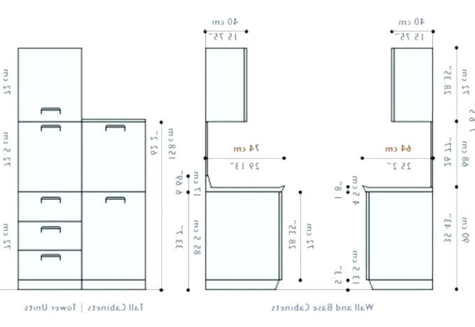 Awesome Kitchen Cabinet Dimensions Mm And Pics In 2020 Kitchen Cabinet Dimensions Kitchen Cabinets Height Cabinet Dimensions